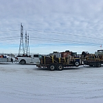 Winter Roads - Lac Brochet Boilers