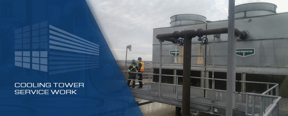 Cooling Tower Service Work