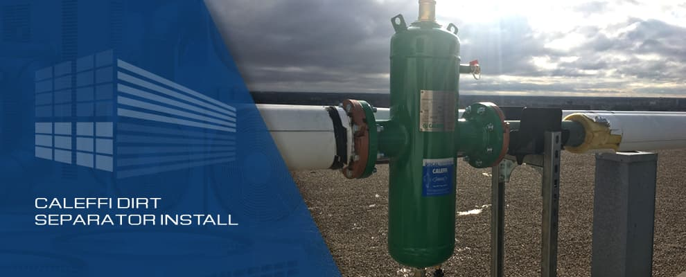 Caleffi Dirt Separator Install
