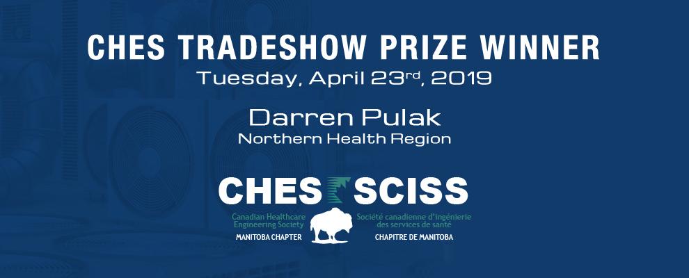 CHES Tradeshow Prize Winner